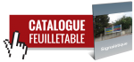 Consulter le catalogue feuilletable de la signalitique