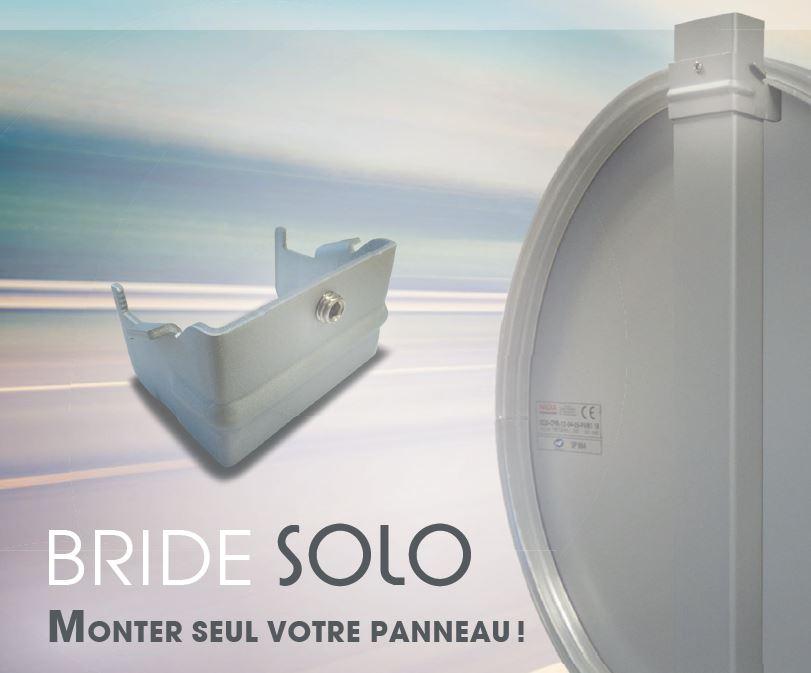 Bride Solo, monter seul votre panneau