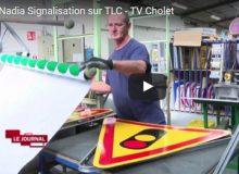 Nadia Signalisation sur TLC – TV locale Cholet