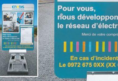 Panneaux d'information